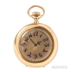Antique 18kt Gold Open-face Pocket Watch, Patek Philippe