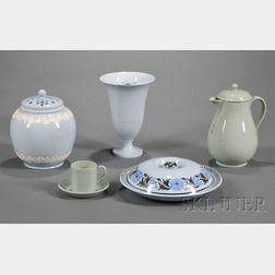 Five Assorted Wedgwood Queen's Ware Items