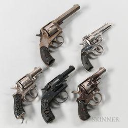 Five Revolvers