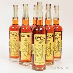 Colonel EH Taylor Barrel Proof Bourbon, 6 750ml bottles