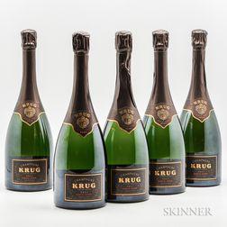Krug 1995, 5 bottles