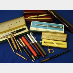 Assortment of Vintage Writing Instruments