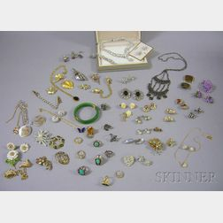 Group of Costume and Estate Jewelry