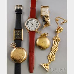 Small Group of Pocket and Wristwatches