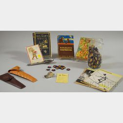Group of Boy Scout Printed Material and Collectibles