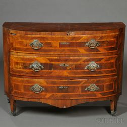 Northern Italian Inlaid Chest of Drawers