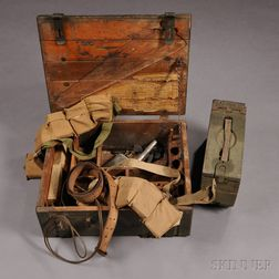 WWI Armorer's Chest and Related Objects