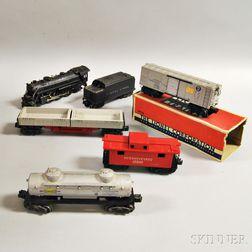 Lionel Train Steam Freight Set #1409