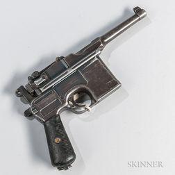 Mauser C96 Broomhandle Post-war Bolo Semi-automatic Pistol