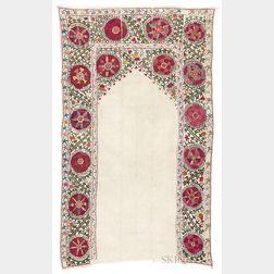 Uzbek Suzani Embroidery