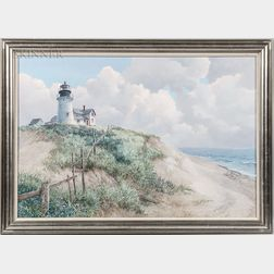 Betsy Bennett (American, 1928-2007)      Lighthouse Keeping