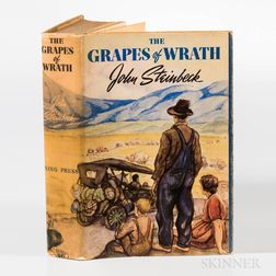 Steinbeck, John (1902-1968) The Grapes of Wrath  , First Edition.
