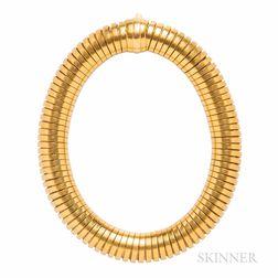 Antique Gold Tubogas Bracelet