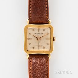Patek Philippe 18kt Gold Reference 2513 Wristwatch