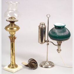 Two Patent Table Lamps