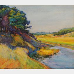 Margaret Jordan Patterson (American, 1867-1950)      View at Wellfleet
