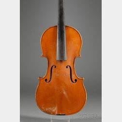 French Violin, Charles J.B. Collin-Mezin, Mirecourt, 1907