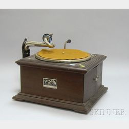 Victrola Mahogany Cased Phonograph