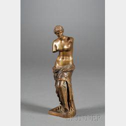 Grand Tour Bronze Venus de Milo