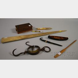 Group of Sailor's and Miscellaneous Items