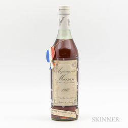 Marson Armagnac 1942, 1 bottle