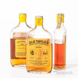 Old Taylor 1942, 3 pint bottles