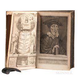 Flacius Illyricus, Matthias (1520-1575) Clavis Scripturae Sacrae, seu de Sermone Sacrarum Literarum.
