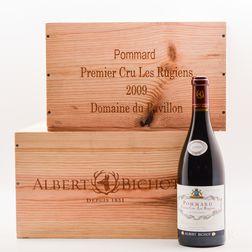 Albert Bichot Pommard Premier Cru Les Rugiens Domaine du Pavillon 2009, 12 bottles (2 x owc)