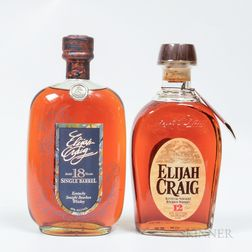 Elijah Craig, 2 750ml bottles Spirits cannot be shipped. Please see http://bit.ly/sk-spirits for more info.