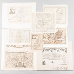 Eight Holy Land Maps