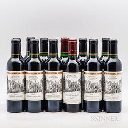 Chateau Montelena Cabernet Sauvignon Estate, 12 demi bottles