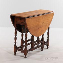 Small Maple Gate-leg Table