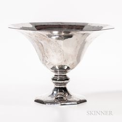 Art Deco Tiffany Sterling Silver Punch Bowl