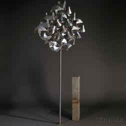 George Sherwood (American, 20th/21st Century) Kinetic Sculpture       Flock of Birds