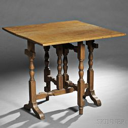 Cherry Tuck-away Table