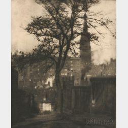 Alvin Langdon Coburn (American/British, 1882-1966)      A Tree in Greyfriars Churchyard, Edinburgh