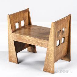 Limbert-style Window Seat