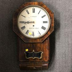 L. Yealey Octagonal Wall Clock