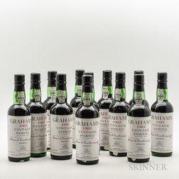 Grahams 1983, 12 demi bottles