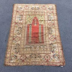 Kayeri Silk Prayer Rug
