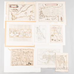 Seventy-two Maps of the Mediterranean, Asia Minor and The Ancient World