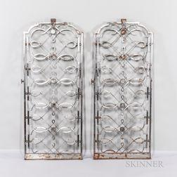 Pair of Art Deco Gates