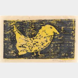 Milton Avery (American, 1893-1965)    Strange Bird