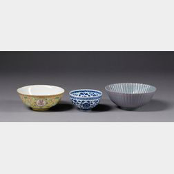 Three Porcelain Bowls