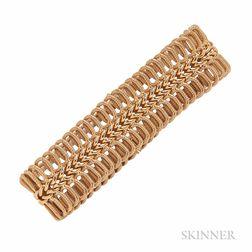 18kt Gold Bracelet, Unoaerre