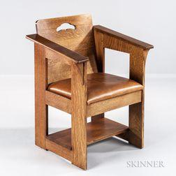 Limbert-style Armchair