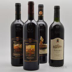 Banfi, 4 bottles