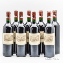 Chateau Lafite Rothschild 1990, 8 bottles