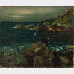 Arthur Clifton Goodwin (American, 1864-1929)      Fishing