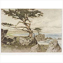 Josef Eidenberger (Austrian, b. 1899)  Lot of Five Prints:  New York, Central Park